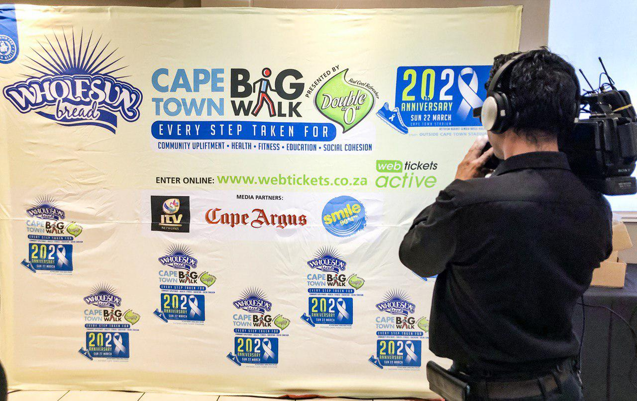 20th Anniversary Cape Town Big Walk Launched